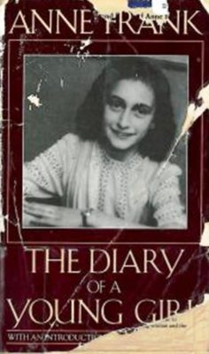 ripped cover of diary of anne frank