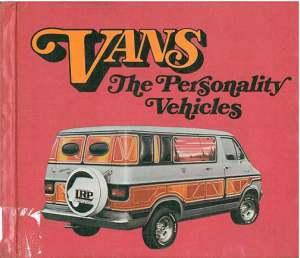 Vans the Personality Vehicles