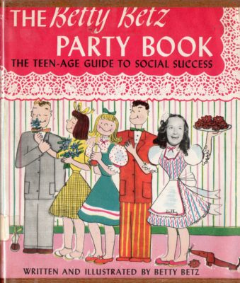 party book cover betty betz