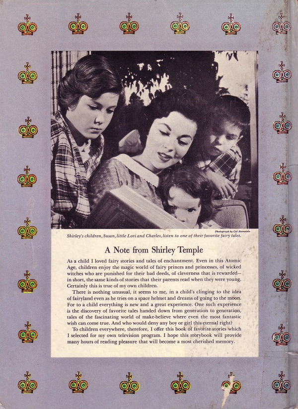 Shirley Temple back cover