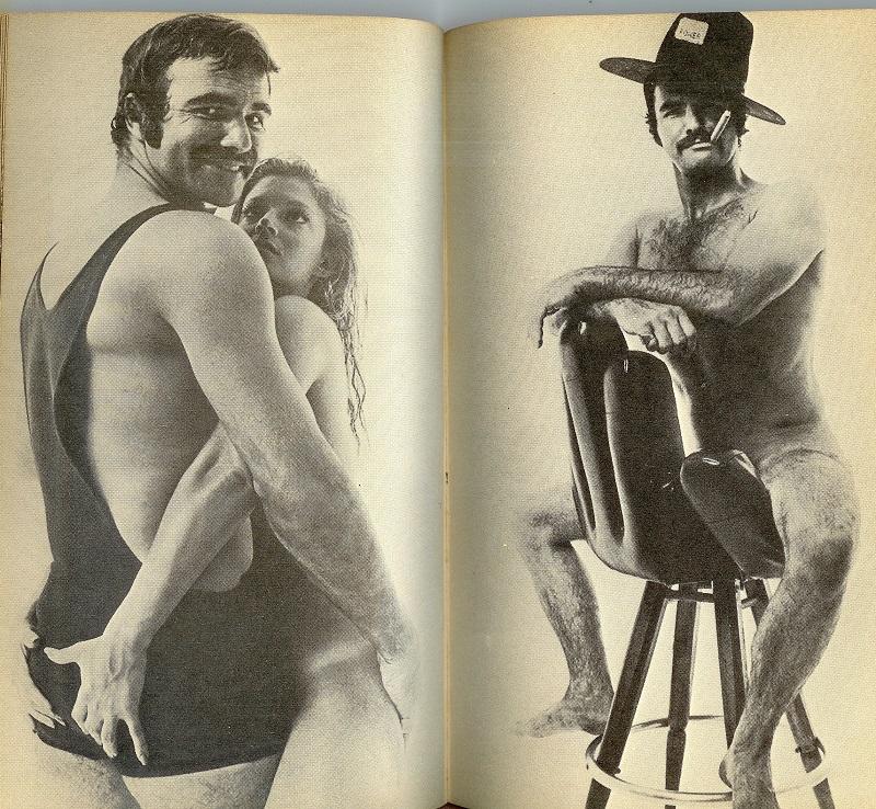 Burt Reynolds naked