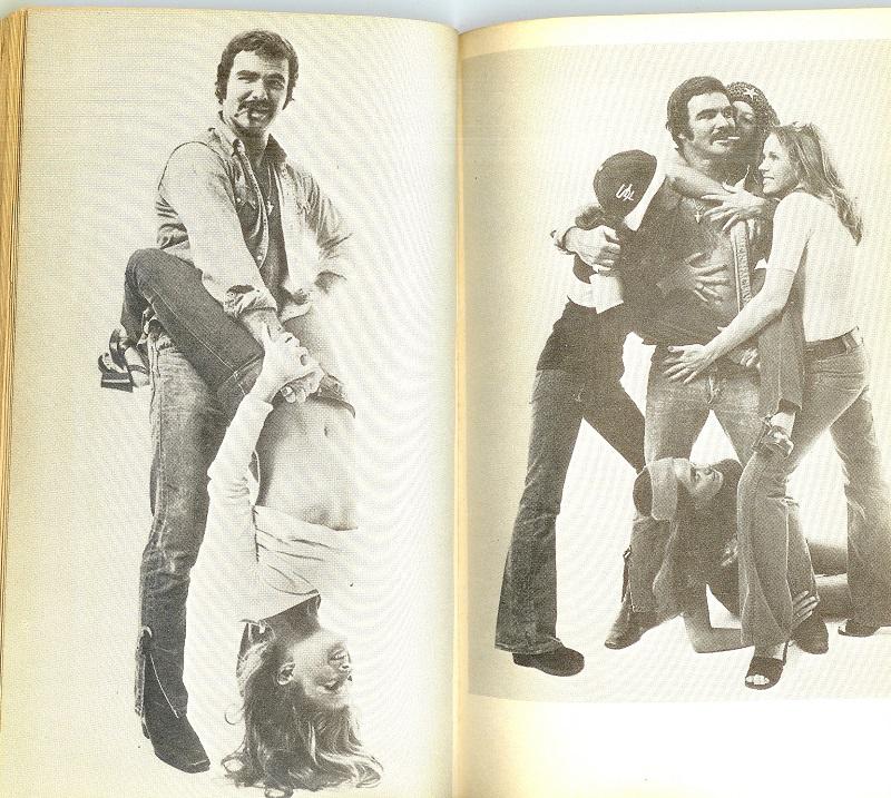 Burt Reynolds with women