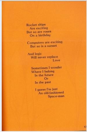 Rocket Ships poem