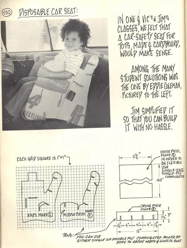 homemade car seat
