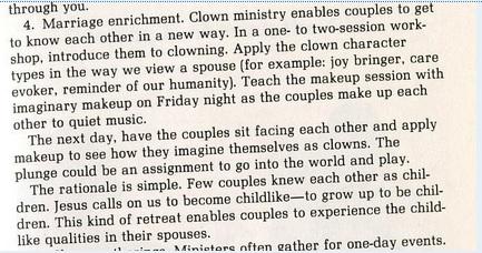 clown ministry