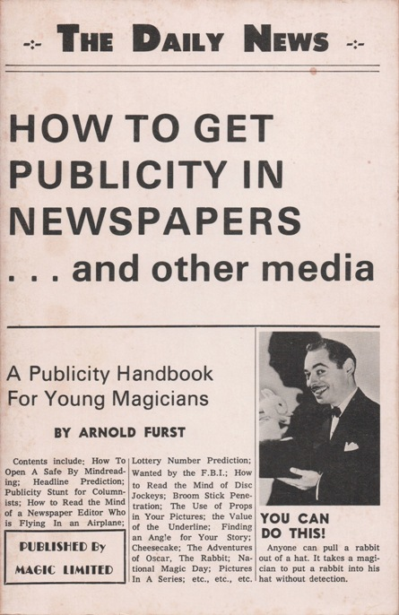 how to get publicity cover