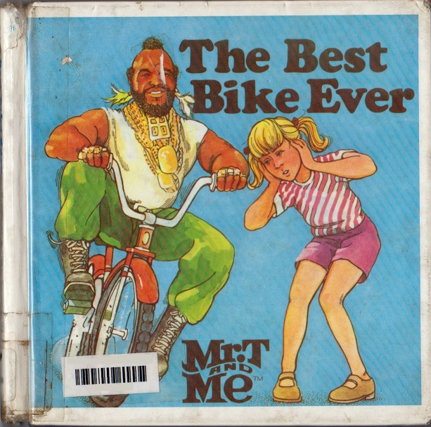 me and mr t and a bike