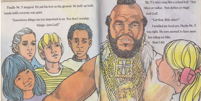 mr t and kids