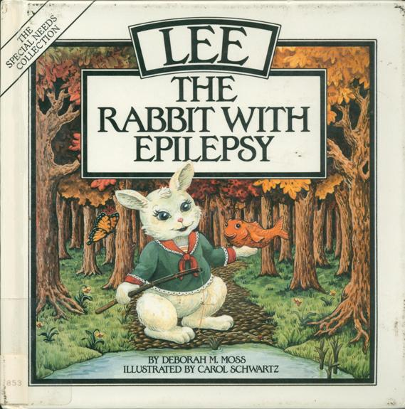 Lee the rabbit with epilepsy cover