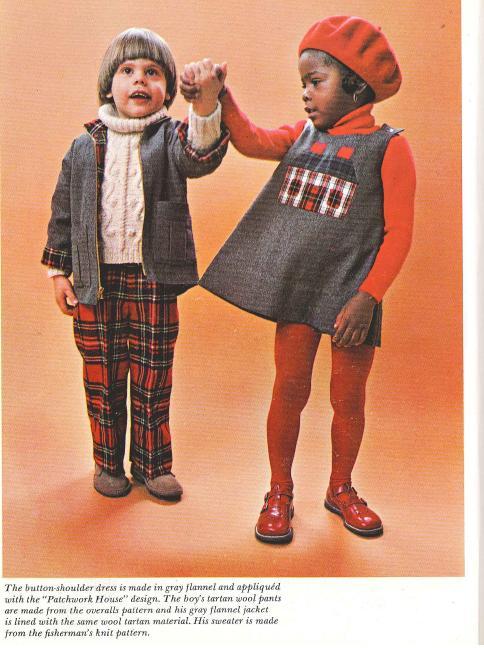 Kids clothes plaid