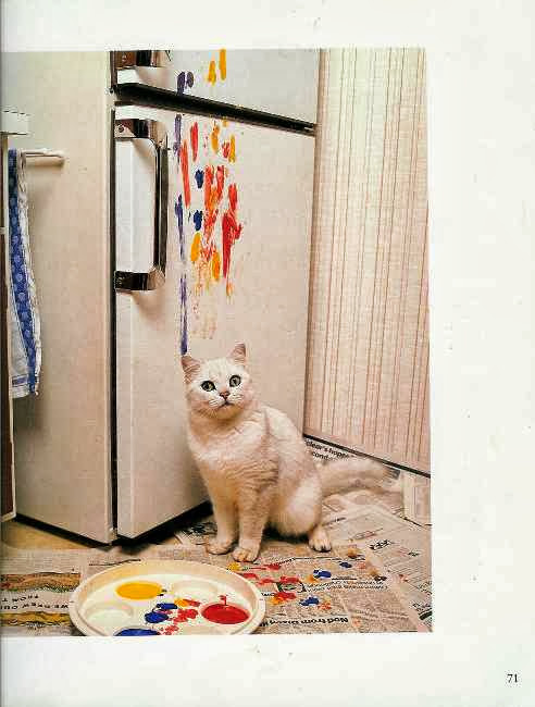 cats and paint