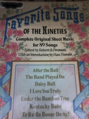 music of the 1890s