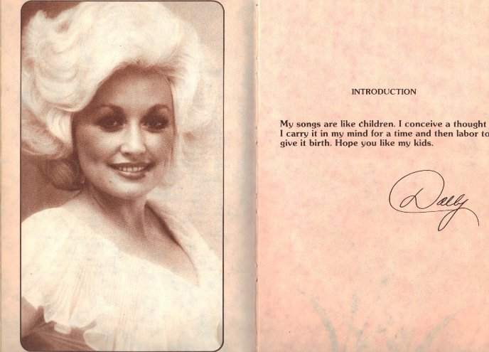 Introduction by Dolly Parton