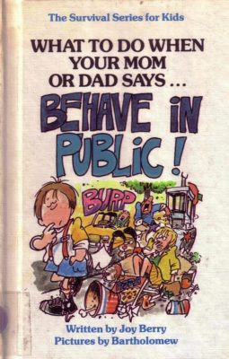 Behave in Public cover