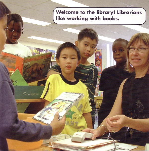 librarians like working with books