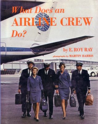 What does an airline crew do?