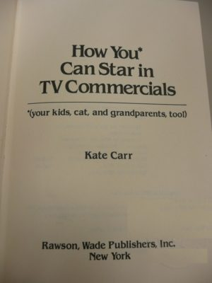 How you can star in TV commercials