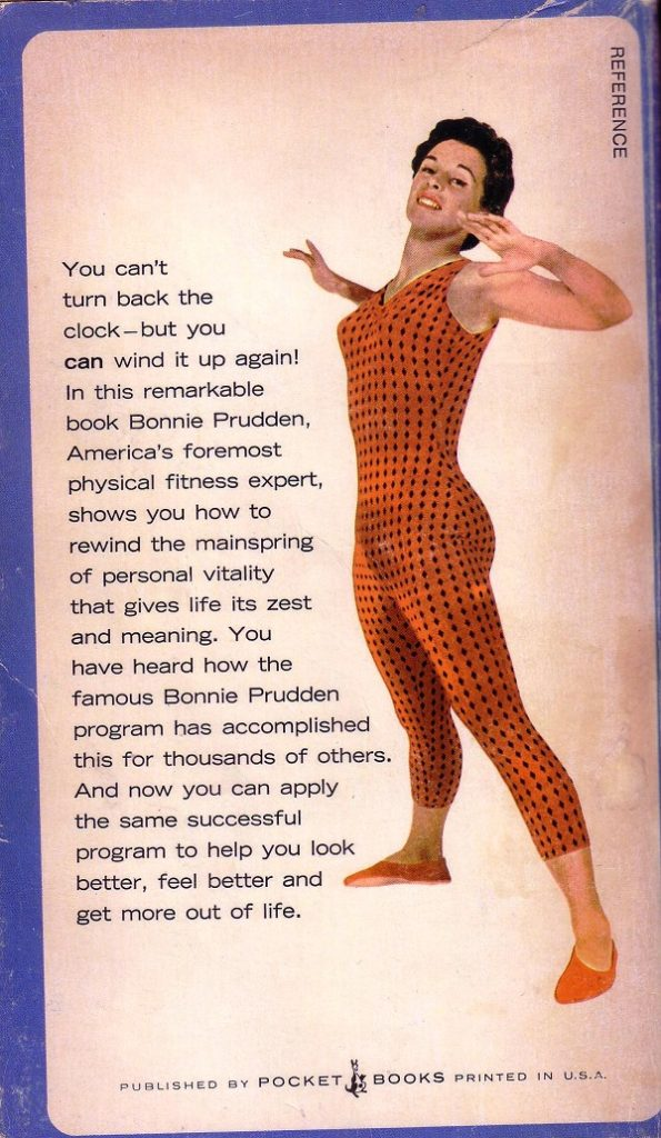 Now Bonnie Does Exercise - back cover