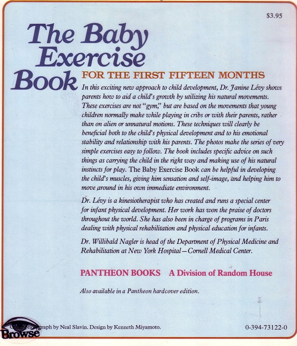 baby exercise back cover