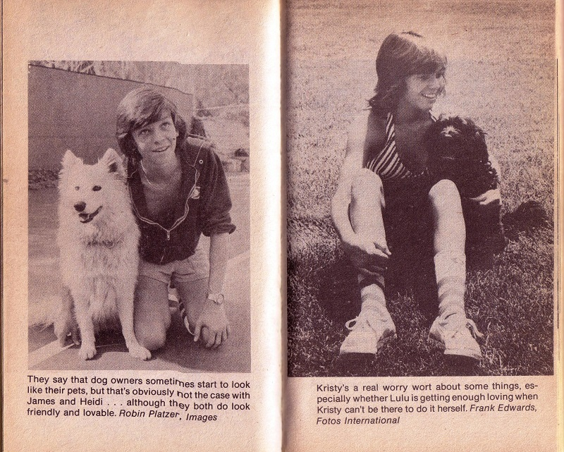 Jimmy and Kristy and their dogs