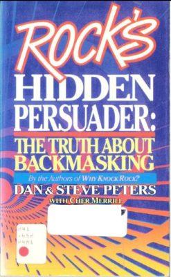 Rock's Hidden Persuader cover