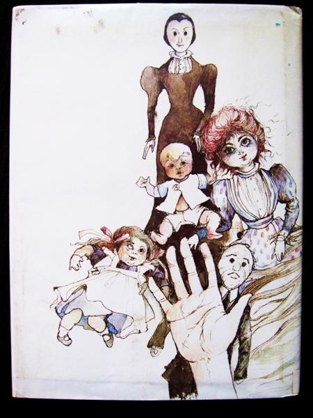 Lots of creepy dolls