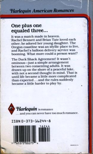 duck shack agreement back cover