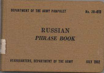 Russian Phrase Book cover