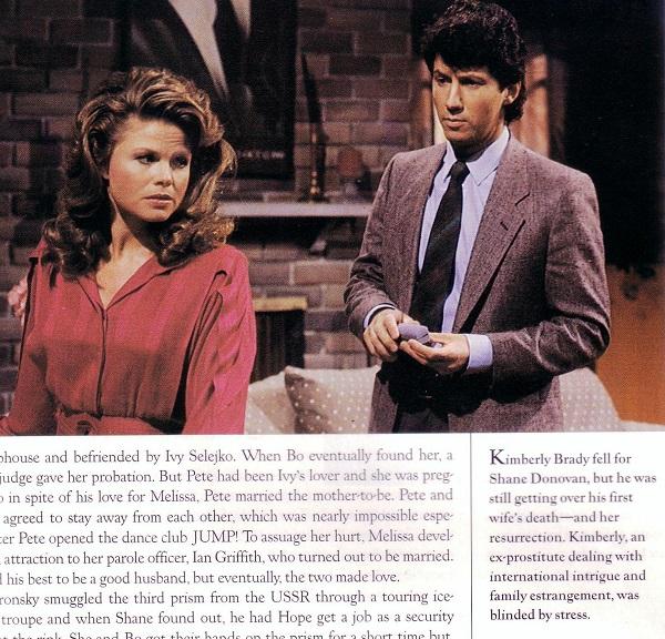 Kimberly Brady and Shane Donovan
