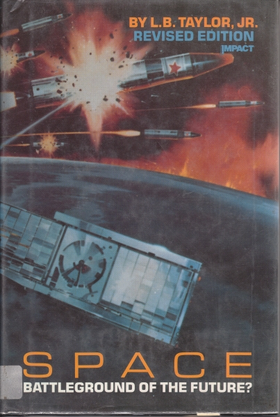 Space battleground of the Future - cover