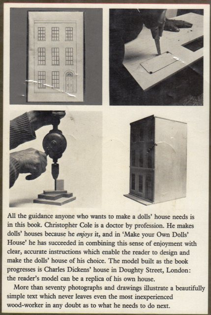 Make Your Own Dolls House back cover