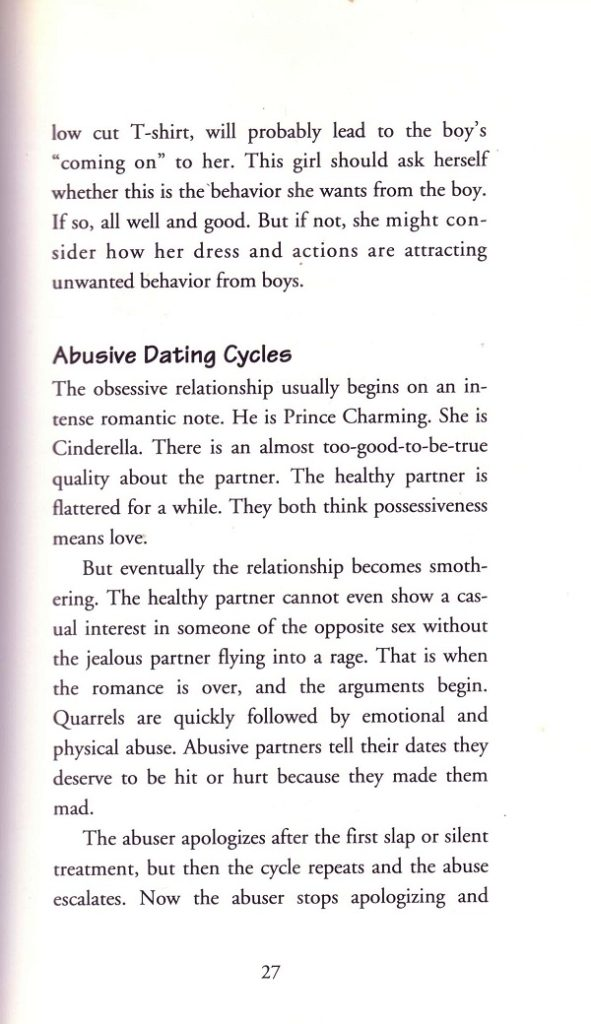 Abusive dating cycles