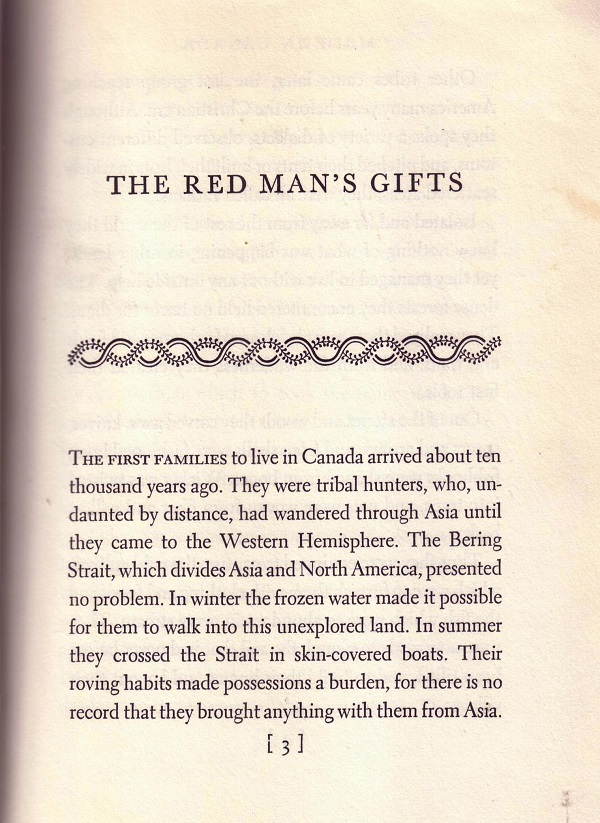 The Red Man's Gifts