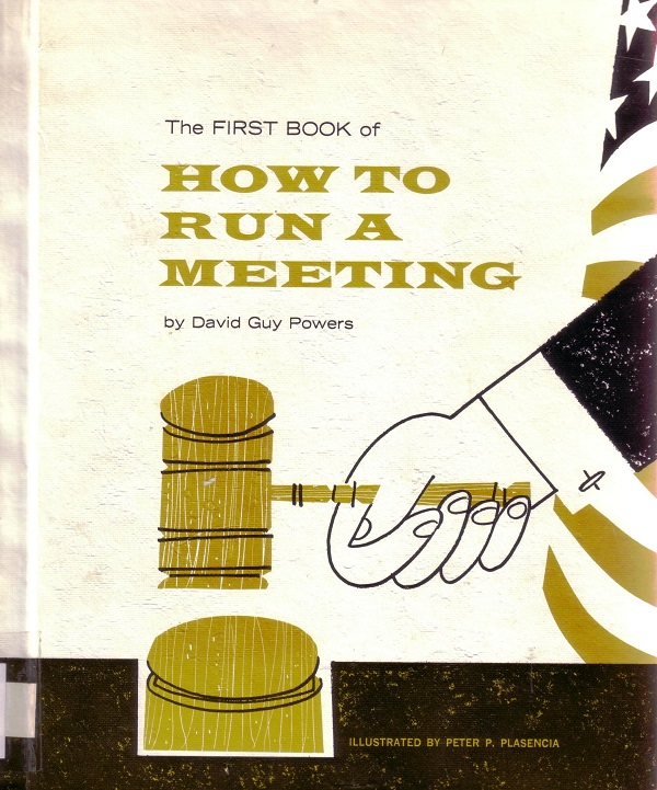 How to Run a Meeting - cover