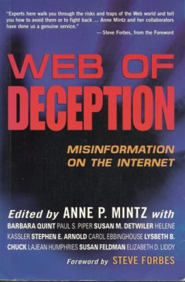Web of Deception cover