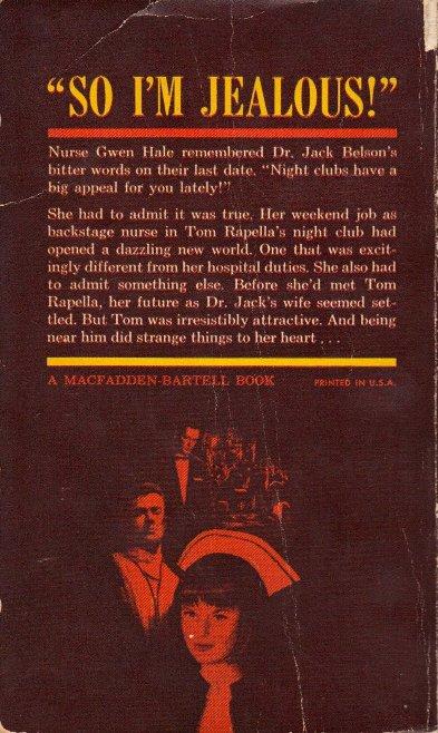 Night Club Nurse back cover