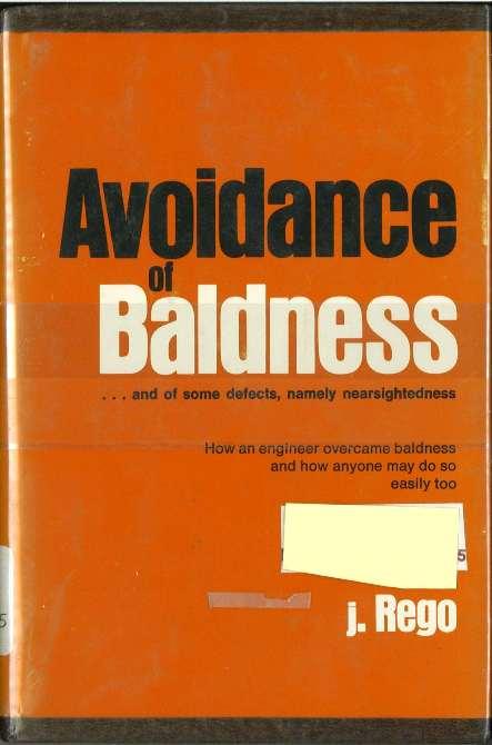 avoidance of baldness cover