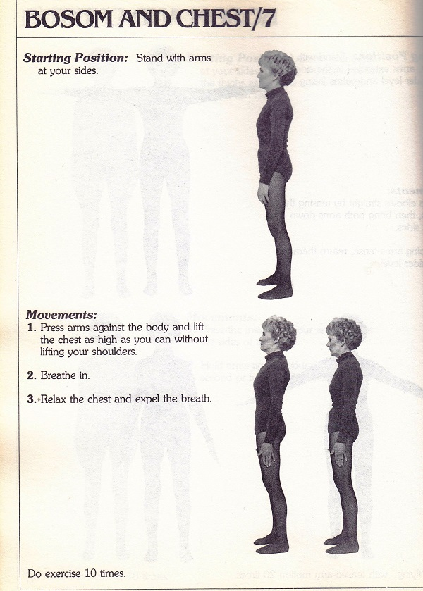 Bosom and chest exercises