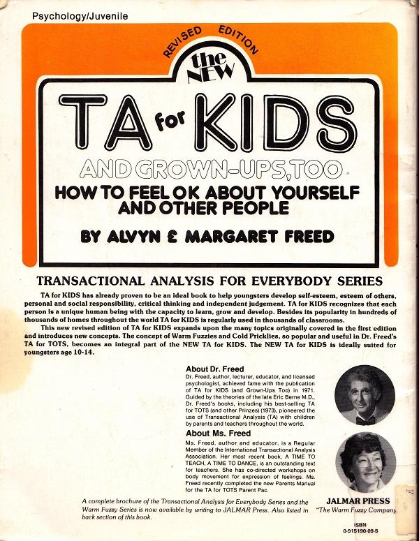 TA for Kids back cover