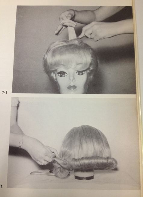 set and style your wig