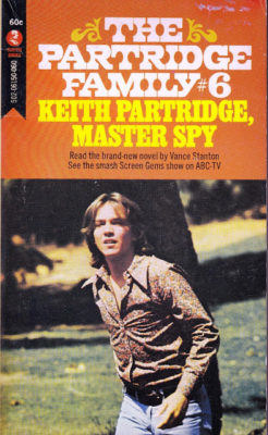 Keith Partridge Master Spy cover