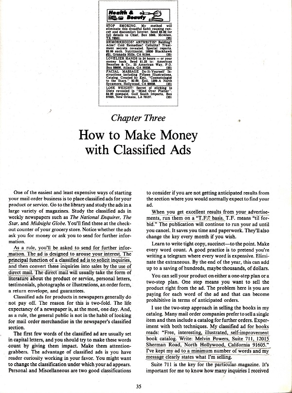 Make Money with Classified Ads