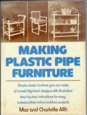 Making Plastic Pipe Furniture cover
