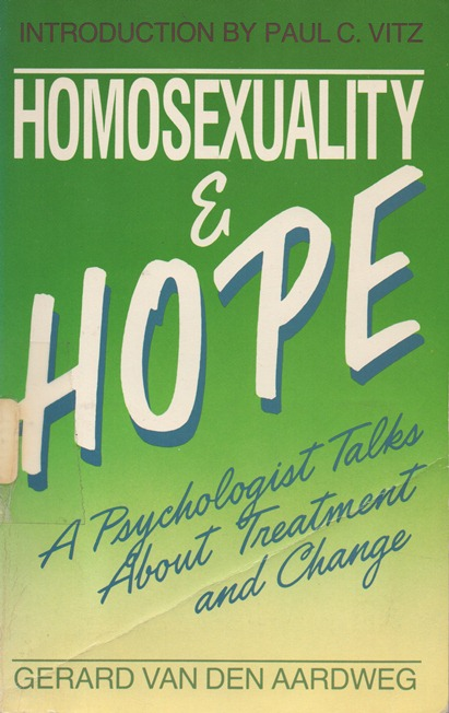Homosexuality and Hope cover