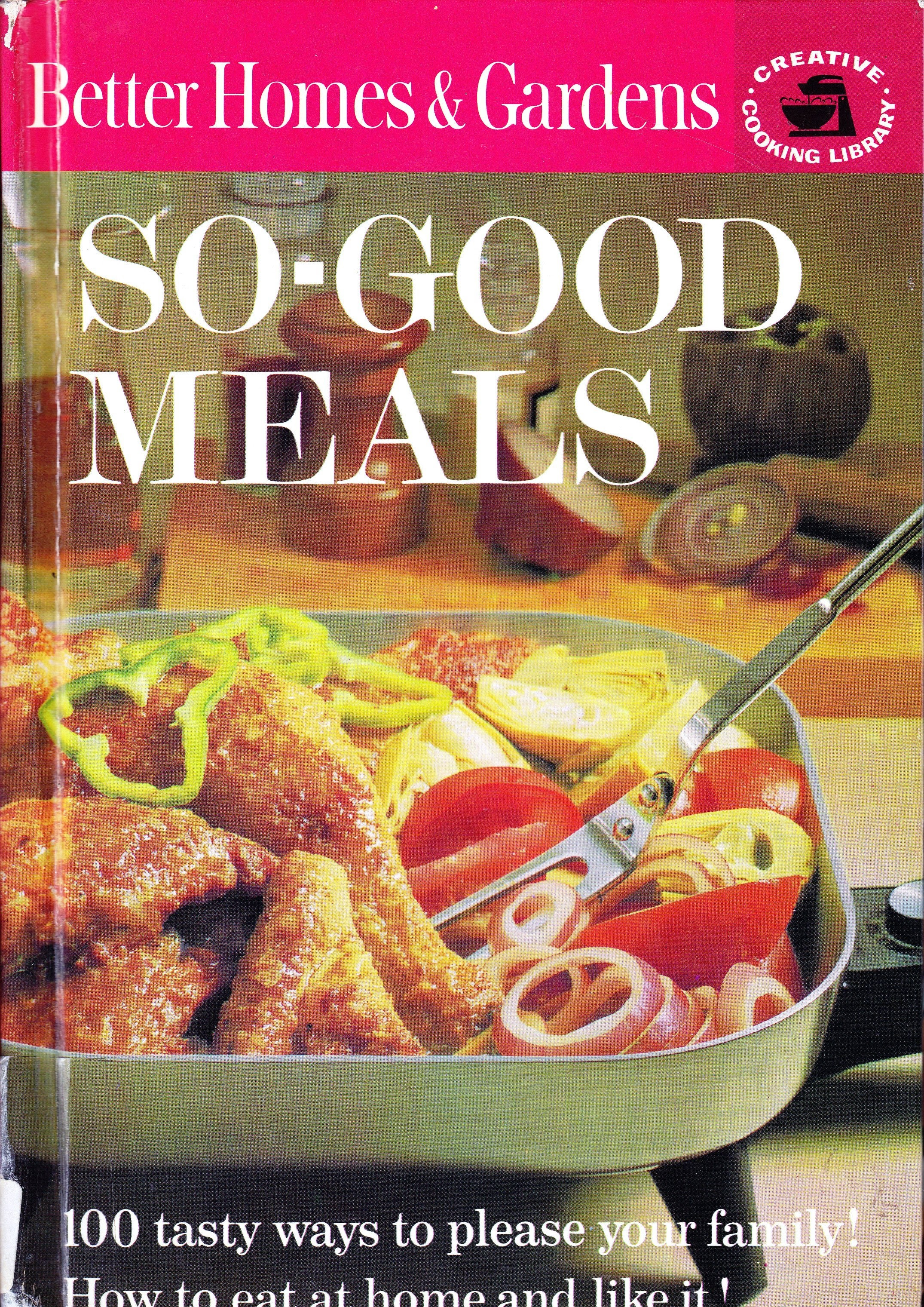 Tasty Meals to please your family cookbook