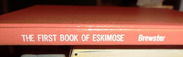 first book of Eskimose spine