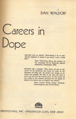 Careers in Dope title page