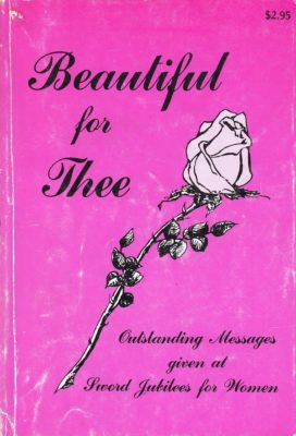 Beautiful For Thee cover