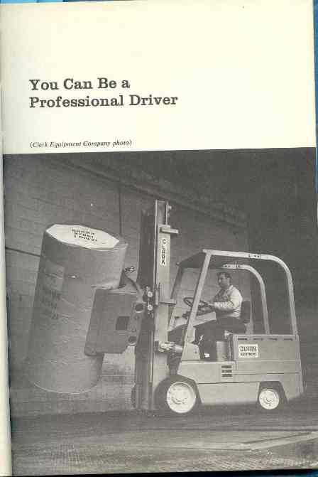 You can be a professional driver cover