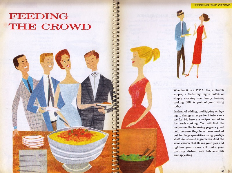Praise for the Cook - Feeding the crowd